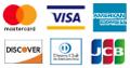 Mastercard Maestro Visa AmEx Diners Discover JCB